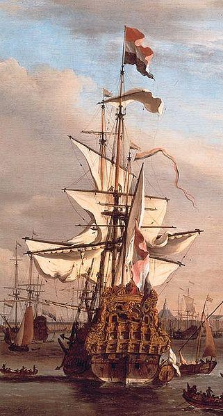 zoek schepen op vaarroute