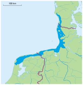 Vóór de aanleg van de Afsluitdijk werd ook de Zuiderzee tot de ...: wiki.woudagemaal.nl/w/index.php/Waddenzee_in_breed_perspectief